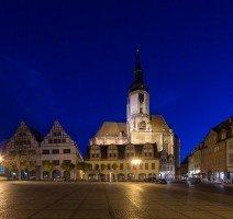 Naumburg bei Nacht, Quelle: