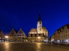 Naumburg bei Nacht