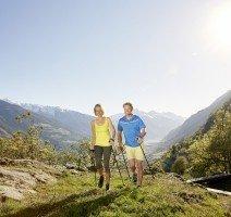 Nordic Walking, Quelle: (c) DolceVita Hotel Preidlhof