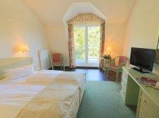 Orangerie Doppelzimmer zur Landseite