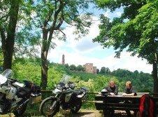 Pfalz Urlaub Motorrad