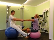 Physiotherapie im Hotel