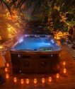 Wellness-Romantik-Erotik Whirlpool: Afrika-Dschungel-Hawaii Suite