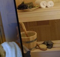 private Sauna im Wellness Studio, Quelle:
