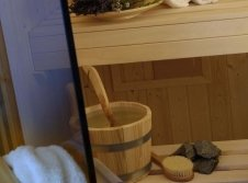 private Sauna im Wellness Studio