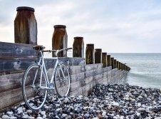 Radfahren an der Nordsee