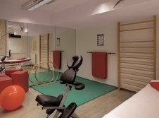 Raum für Physiotherapie