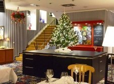 Restaurant an Weihnachten