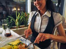 Restaurant Paar