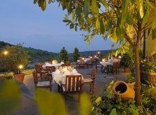 Restaurant Romantik auf der Terrasse