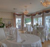 Restaurant Weißer Salon, Quelle: (c) Romantik Hotel Esplanade