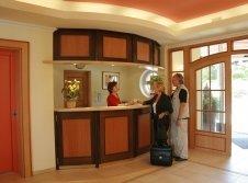 Rezeption Wellness-Hotel Bayerwald-Residenz