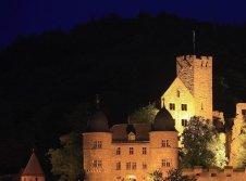 Romantik pur: Burg Wertheim bei Nacht
