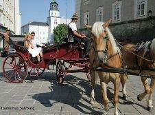 Romantische Kutschfahrt durch Salzburg