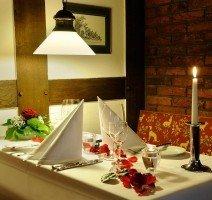 Romantisches Candlelight-Dinner, Quelle: (c) VILA VITA Burghotel Dinklage