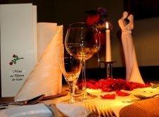Romantisches Diner