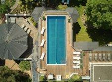 rooftop pool & sauna
