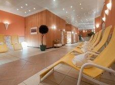 Ruhebereich der Sauna