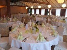 Saal für Hochzeiten bis 160 Personen
