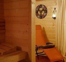 """Unser Saunabereich """" Hühnerhof"""", Quelle: (c) Hotel und Landgasthof zum Bockshahn"""