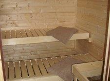 Sauna im Zimmer