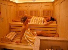 Sauna im Wellness Hotel Bergruh