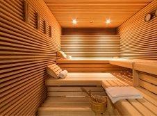 Sauna im Hotel