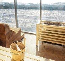 Sauna mit Blick nach draußen, Quelle: