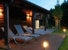 Sauna mit Relax Liegen
