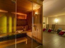 Sauna- und Ruhebereich