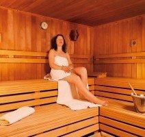 Sauna im Vitalhotel am Stadtpark, Quelle: (c) Vitalhotel am Stadtpark
