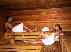 Saunabeispiel der Erlebeniswelt