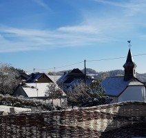 Hühnerhof im Winter, Quelle: (c) Hotel und Landgasthof zum Bockshahn