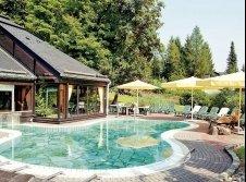 Schwimmbad Außenbereich