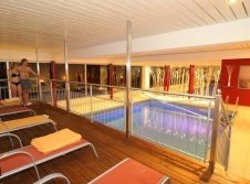 Schwimmbad im Wellness Hotel Bergruh