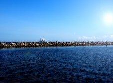 Segelschiff am Yachthafen