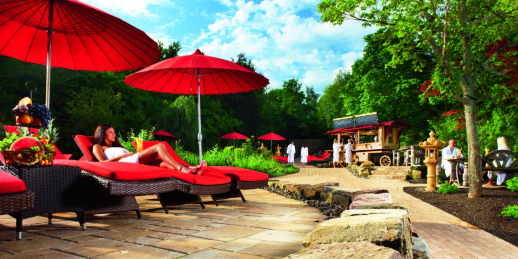 sieben welten f r freundinnen im b der park hotel sieben welten therme spa resort in fulda. Black Bedroom Furniture Sets. Home Design Ideas