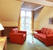 Standard Doppelzimmer oder Einzelzimmer in der Dependance, Quelle: (c) Hotel Lamm Betriebs GmbH