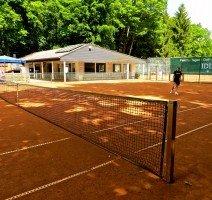 Tennis-Außenplatz (kostenfrei für Hotelgäste), Quelle: (c) IDINGSHOF Hotel & Restaurant