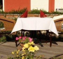 Terrasse, Quelle: (c) Strandhotel Deichgraf