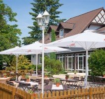 Terrasse, Quelle: (c )Ferien Hotel Spreewald