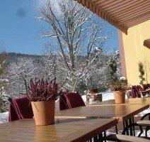 Terrasse, Quelle: (c )Hotel FRANZISKUSHÖHE