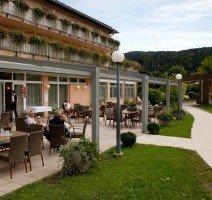 Terrasse, Quelle: (c) Sonnenhotel Hafnersee
