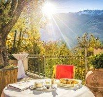 Terrasse, Quelle: (c) DolceVita Hotel Preidlhof