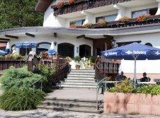 Terrasse des Wander- und Wellnesshotel Winterhaldenhof