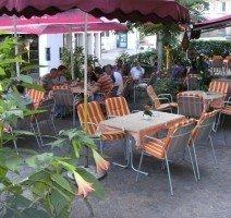 Terrasse zum Deutschen Hof, Quelle: