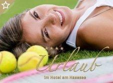 Theaser Tennis-Urlaub im Hotel am Hasesee