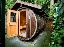 Tonnen-Sauna