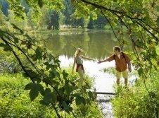 Traumhafte Wanderungen durch die naturbelassene Umgebung