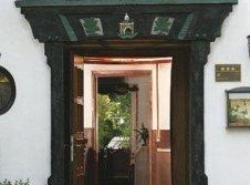 Tür zum Restaurant